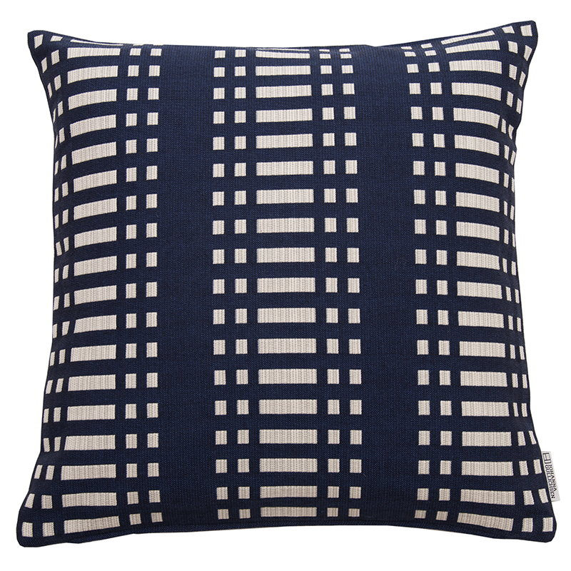 Johanna Gullichsen Nereus cushion cover, dark blue