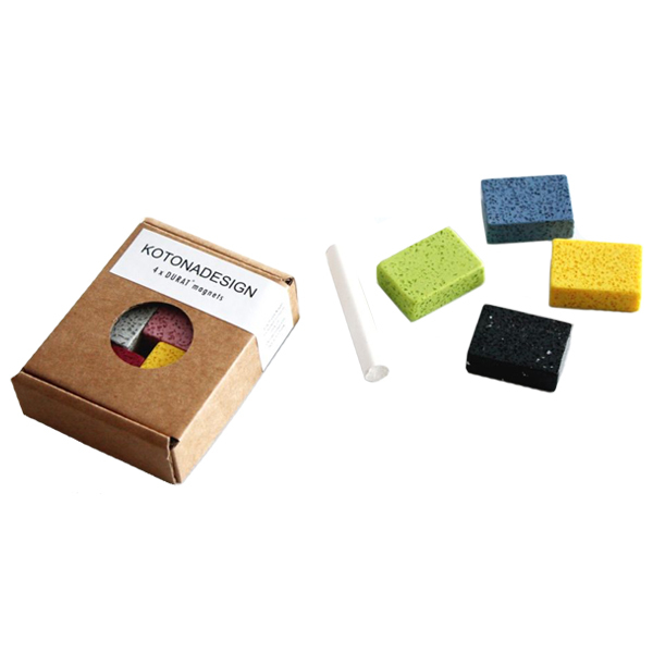 Kotonadesign Durat magnets 4 pcs and chalk