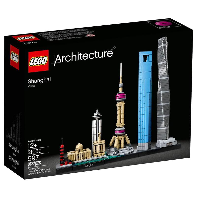 Lego Lego Architecture Shanghai