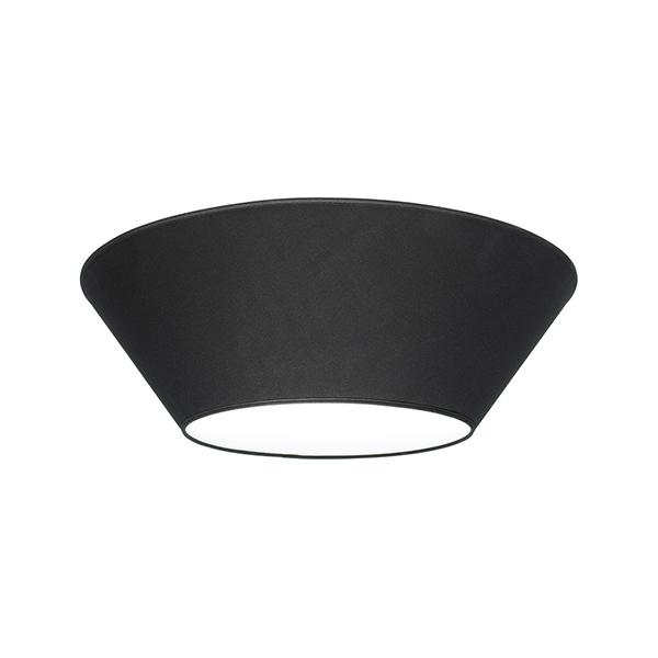 Lundia Halo ceiling light, small, black