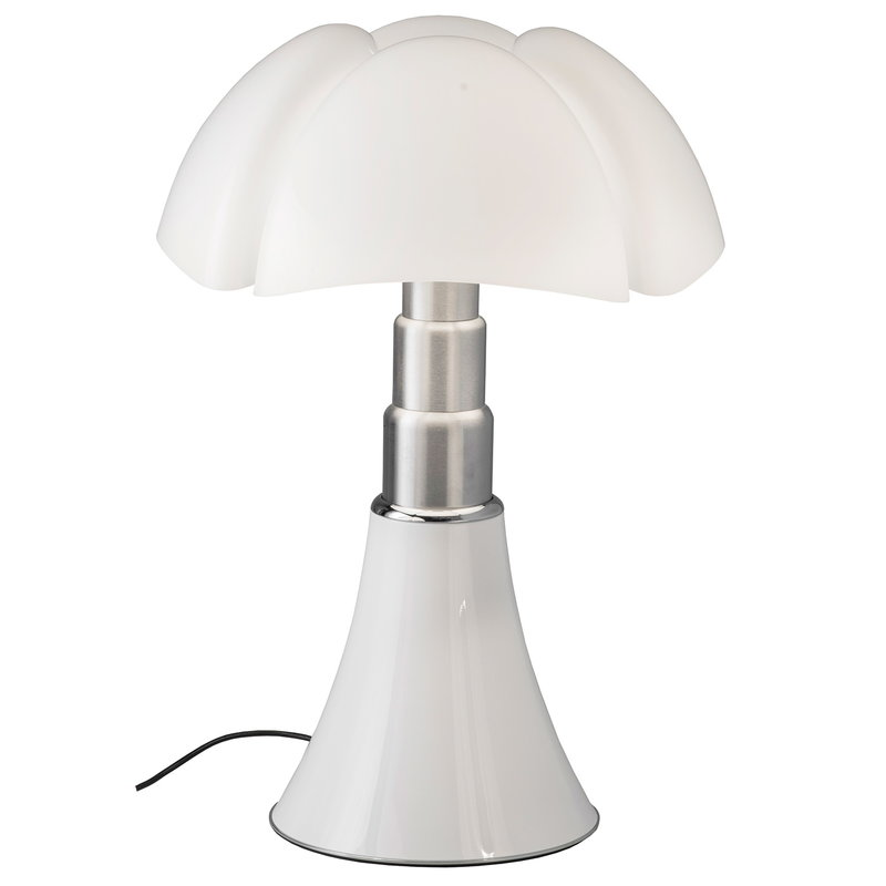 Martinelli Luce Pipistrello LED table lamp, dimmable, white