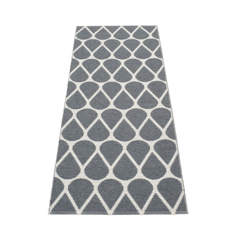 Pappelina Otis matto 70 x 200 cm, granit - fossil grey
