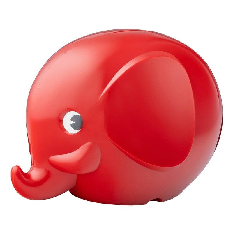 Palaset Salvadanaio Maxi Elephant, rosso