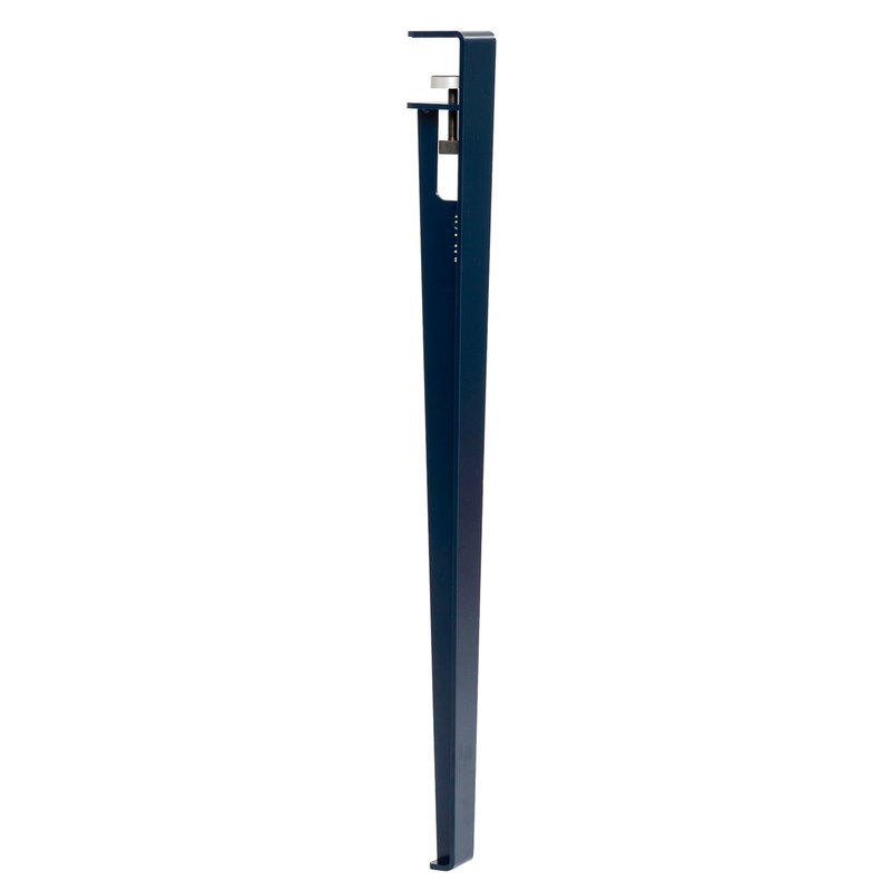 TIPTOE Table and desk leg 75 cm, mineral blue