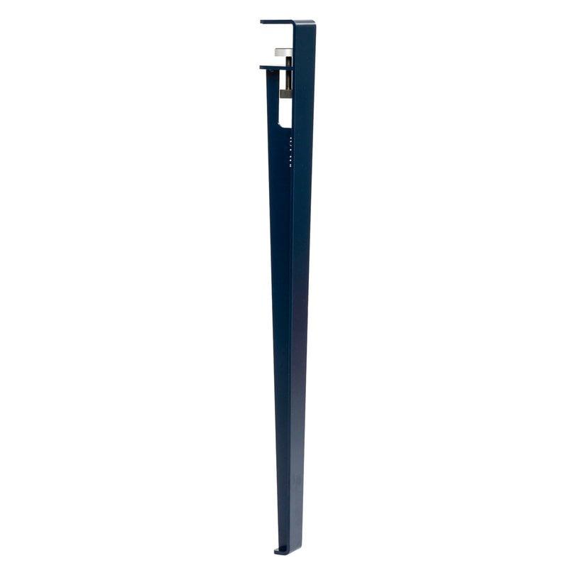 TIPTOE Table and desk leg 75 cm, 1-pack, mineral blue