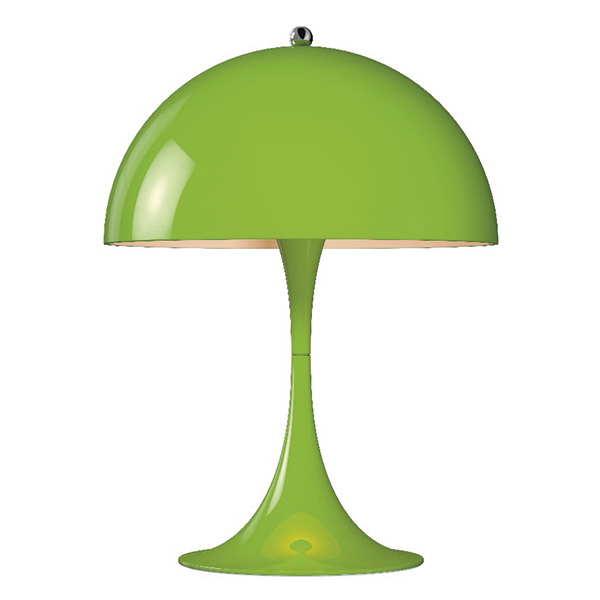 Louis Poulsen Panthella Mini table lamp, yellow-green