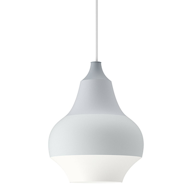 Louis Poulsen Cirque pendant, 15 cm, grey top