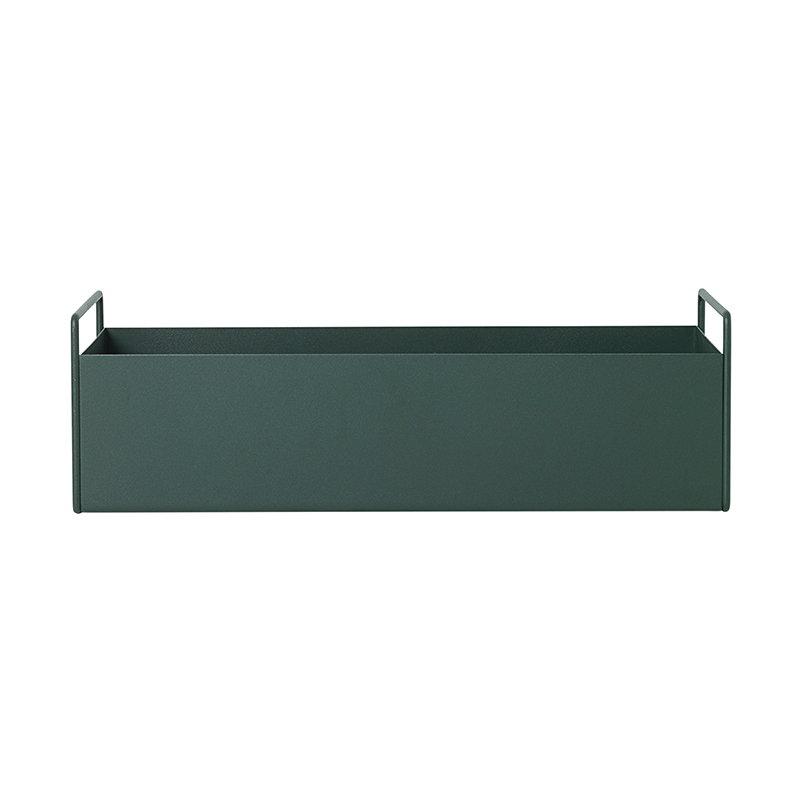 Ferm Living Fioriera Plant Box, piccola, verde scuro