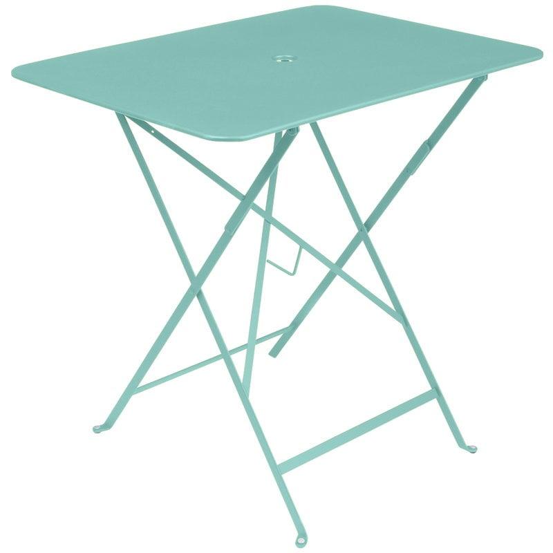 Fermob Bistro table 77 x 57 cm, blue lagoon