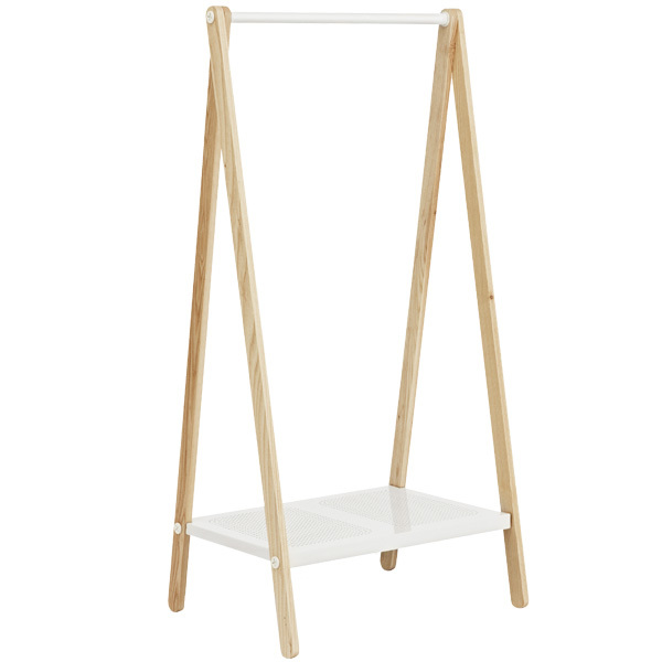 Normann Copenhagen Toj clothes rack, small, white - ash