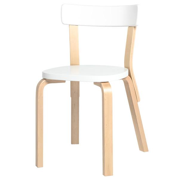 Artek Aalto chair 69, white