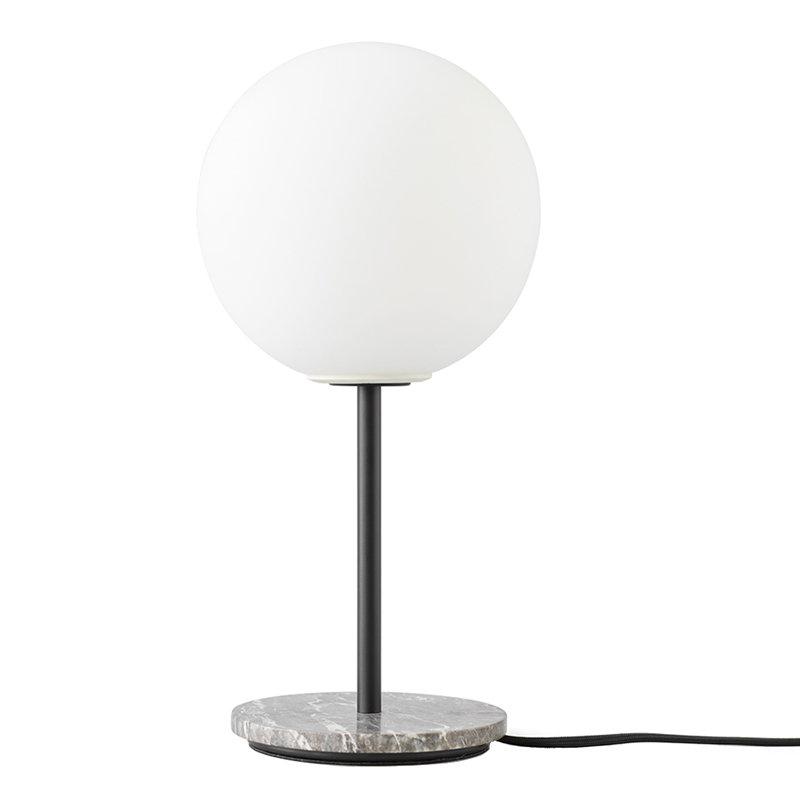 Menu Tr Bulb Table Lamp Grey Marble Matte Opal Finnish Design Shop