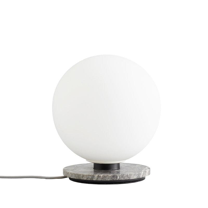Menu TR Bulb table/wall lamp, grey marble - matte opal