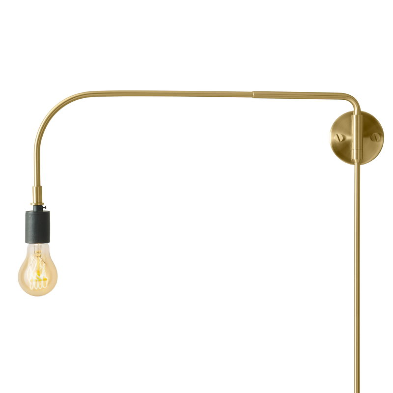 Menu Tribeca Warren wall lamp, brass