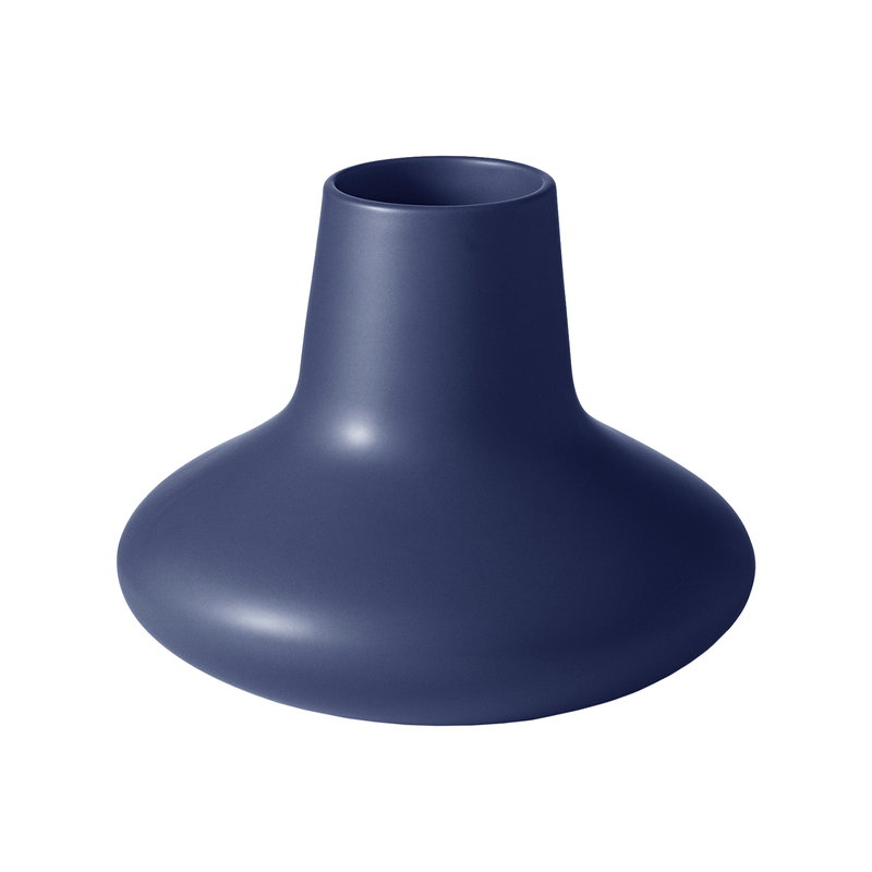 Georg Jensen HK vase, blue, small