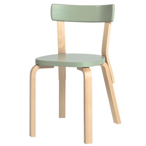 Artek Aalto tuoli 69, vihreä