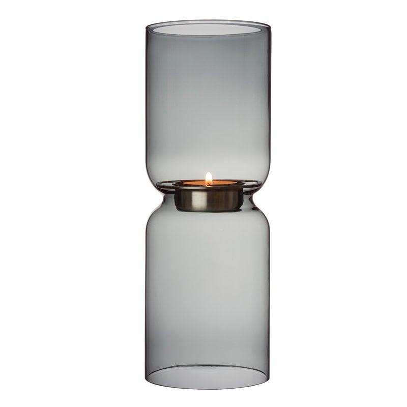 Iittala Lantern kynttilälyhty 250 mm, tummanharmaa