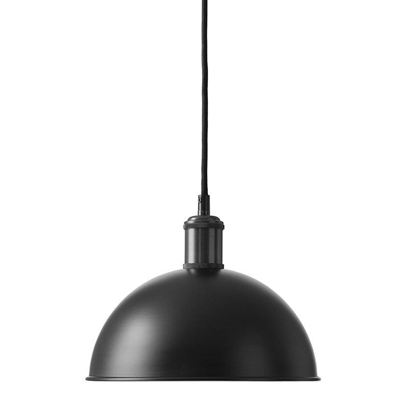 Menu Lampada a sospensione Tribeca Hubert 24 cm, nera