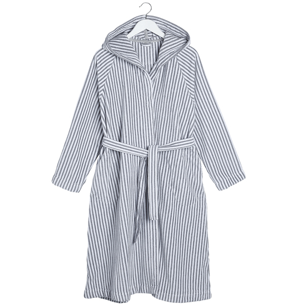Marimekko Siro Mari bathrobe, grey/white