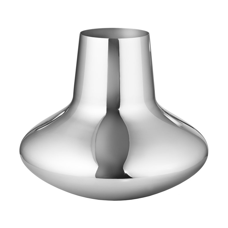 Georg Jensen HK vase, steel, large