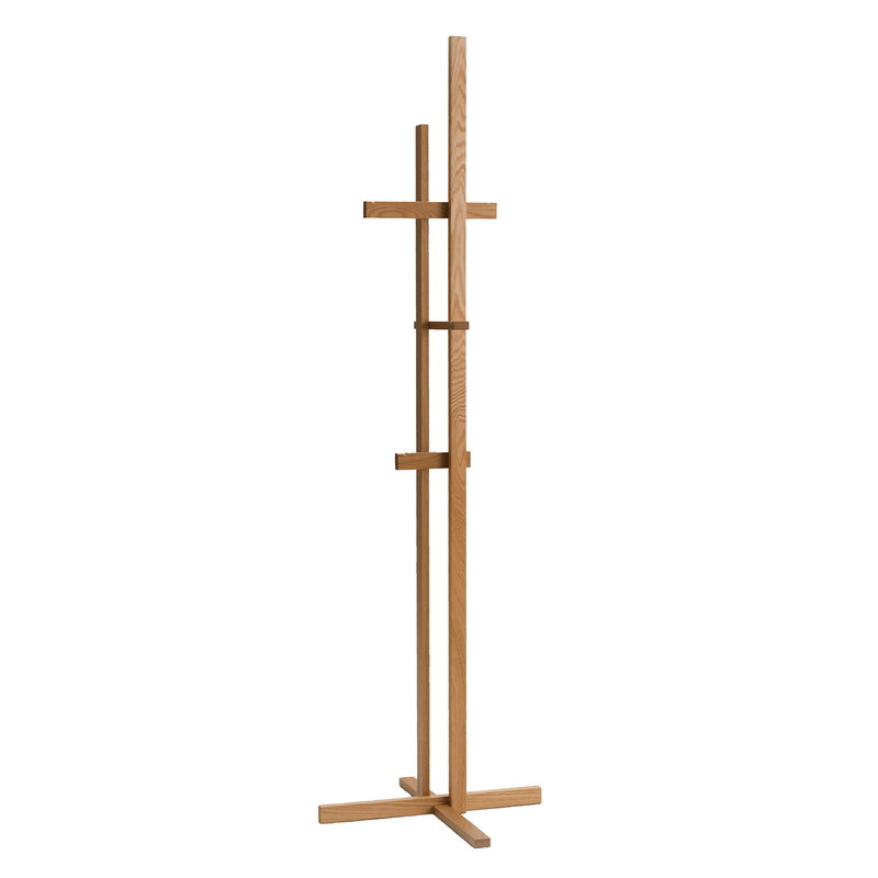 Ariake Elements coat rack, oak