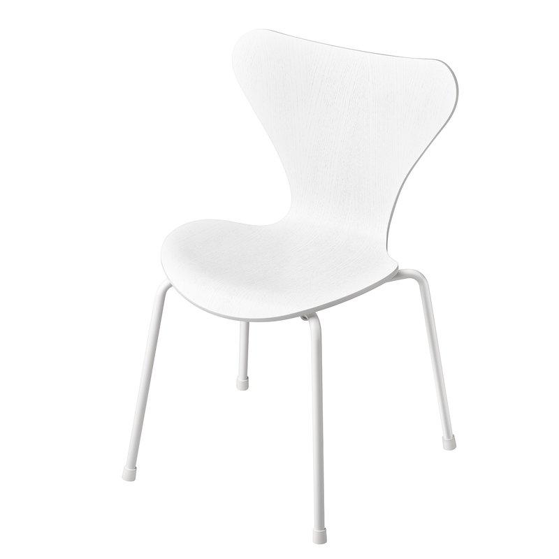 Fritz Hansen Series 7 children's chair, white