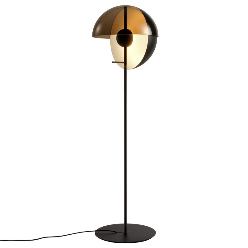 Theia p floor lamp black