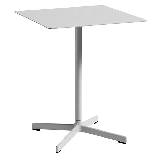 Hay Neu table square, light grey