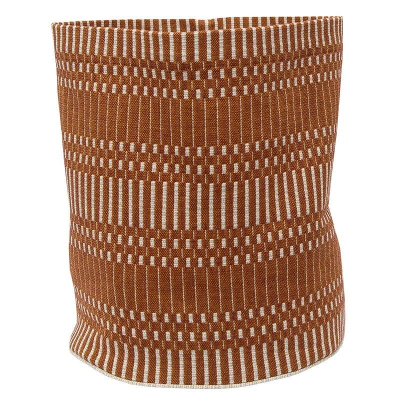 Johanna Gullichsen Helios fabric basket M, brick
