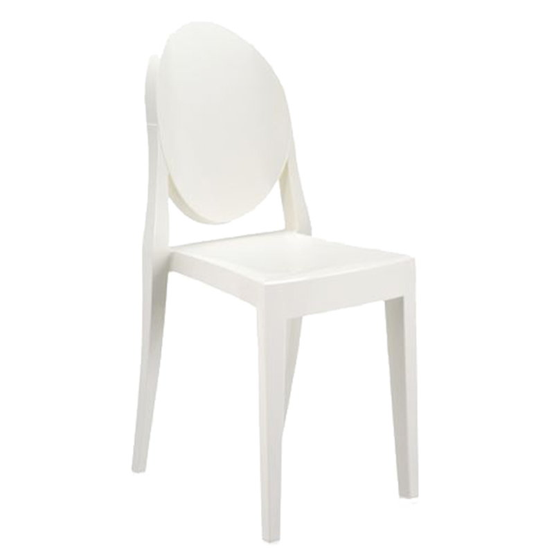 Kartell Victoria Ghost chair, white | Finnish Design Shop