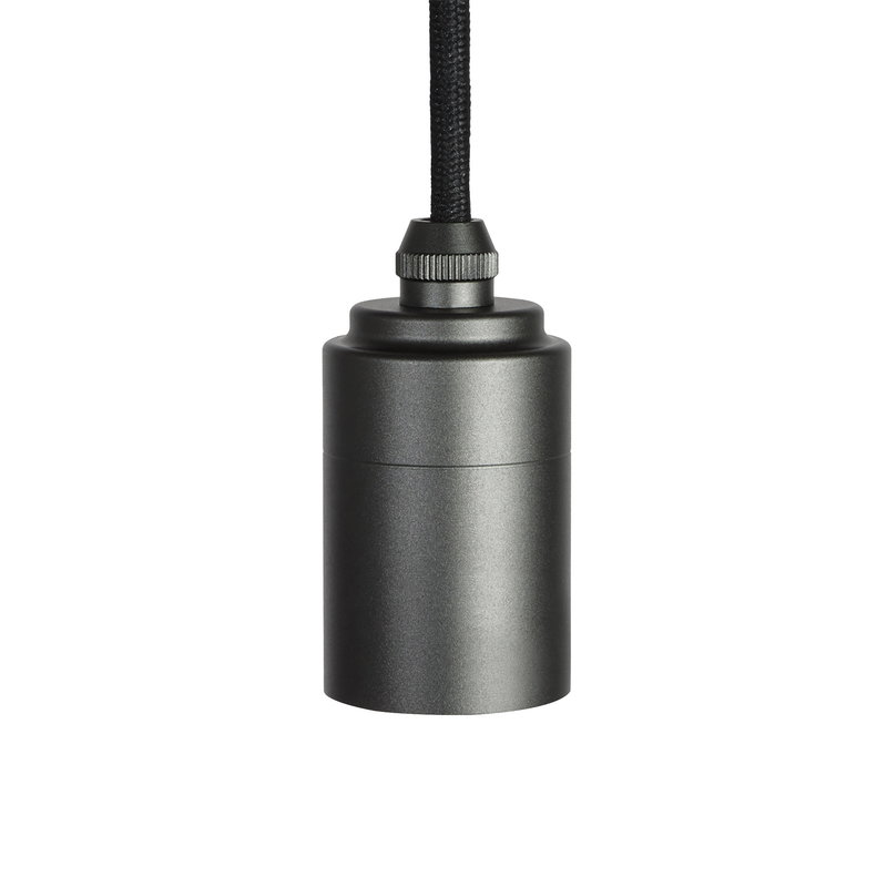 Tala Graphite pendant lamp base