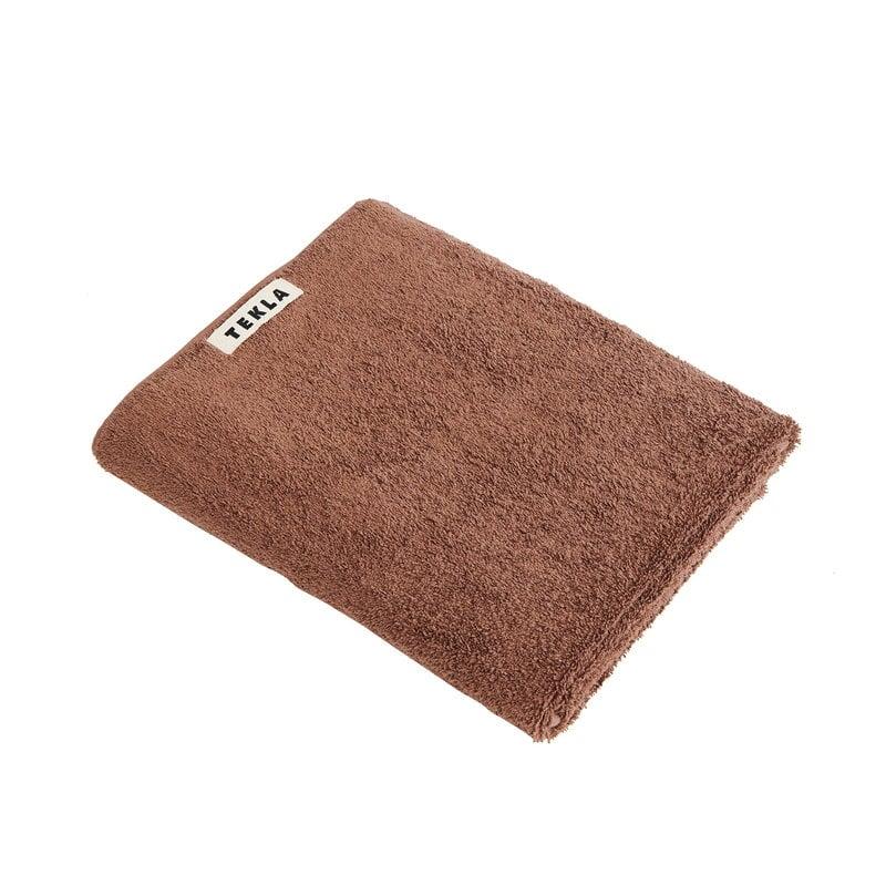 Tekla Guest towel, 30 x 50 cm, kodiak brown