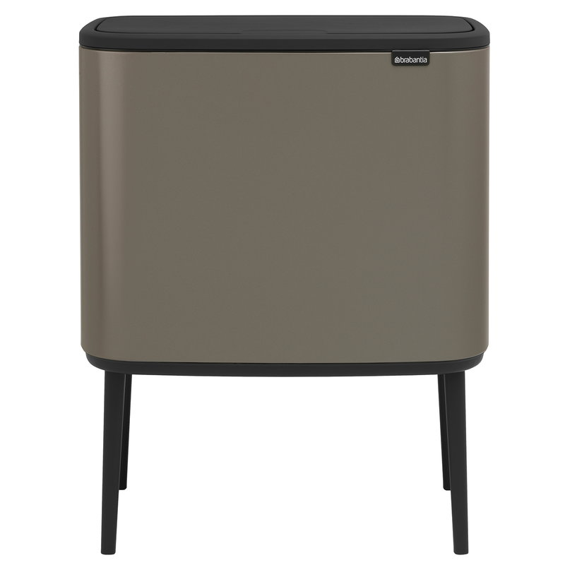 Remarkable Bo Touch Bin 11 23 L Platinum Bralicious Painted Fabric Chair Ideas Braliciousco