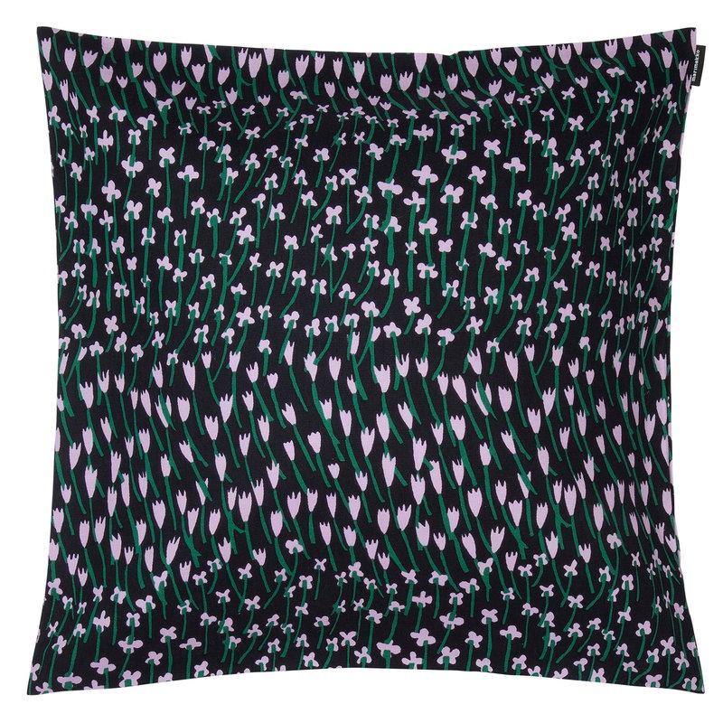Marimekko Apilainen cushion cover 45 x 45 cm, dark blue-lilac-green