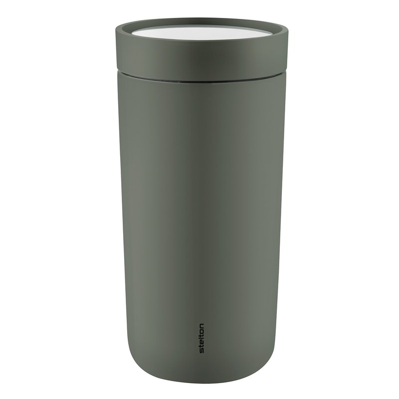 Stelton To Go Click thermo cup, dark forest green