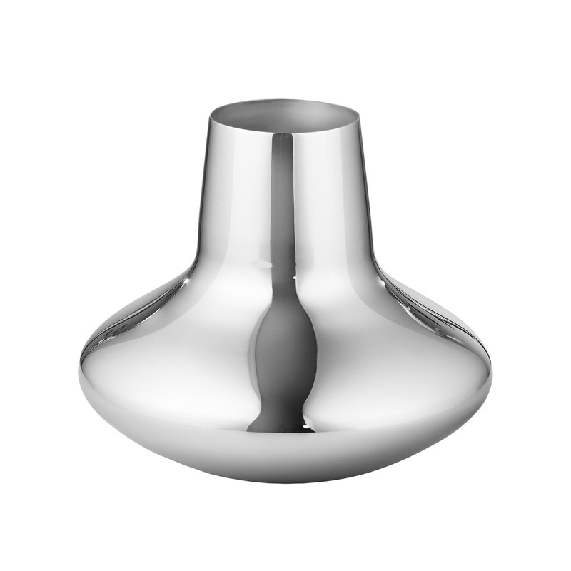 Georg Jensen HK vase, steel, small