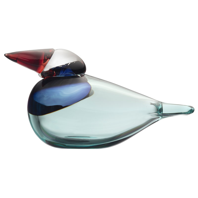 Iittala Birds by Toikka Queenfisher, blu mare