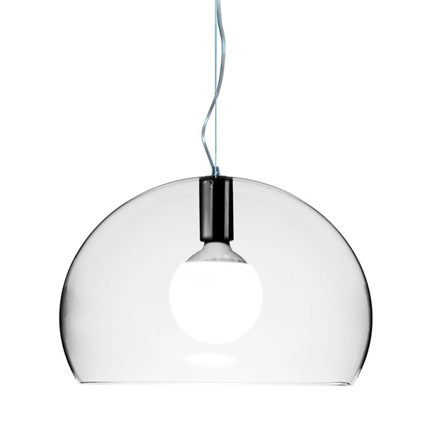 Kartell FL/Y pendant small, clear | Finnish Design Shop