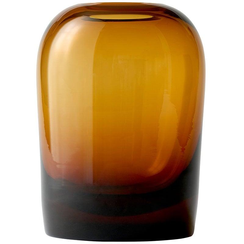 Menu Troll vase, XL, amber | Finnish Design Shop