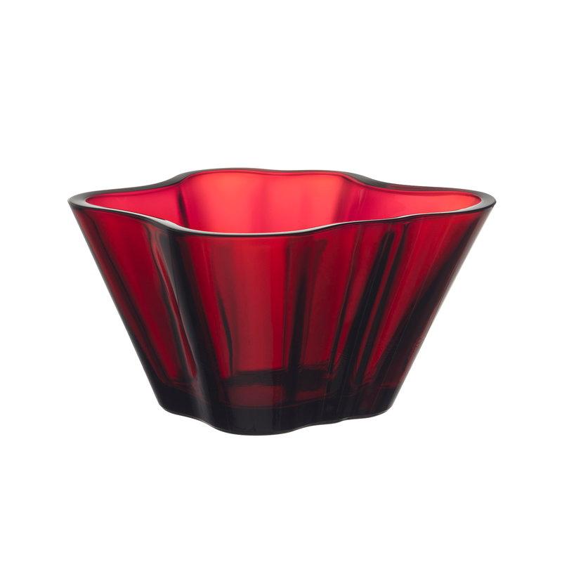 Iittala Aalto bowl 75 mm, cranberry
