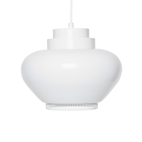 Artek Aalto pendant lamp A333, white