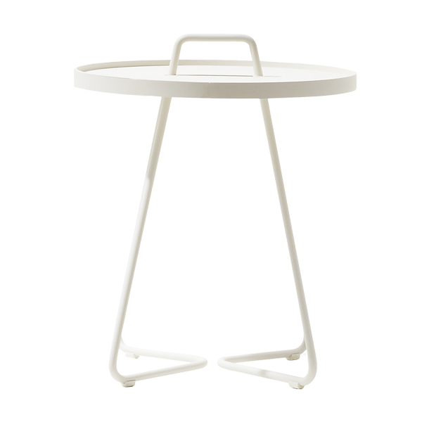 Cane-line On-the-move table, small, white