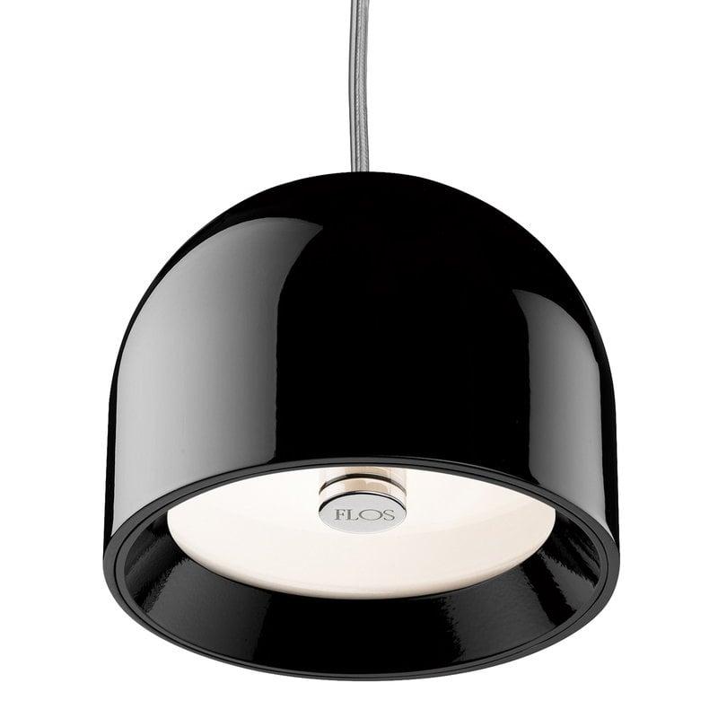 Flos Wan S pendant, black