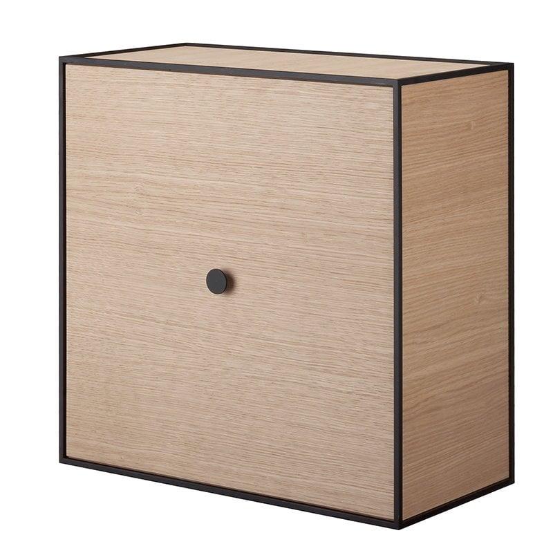 By Lassen Frame 42 box with door, oak