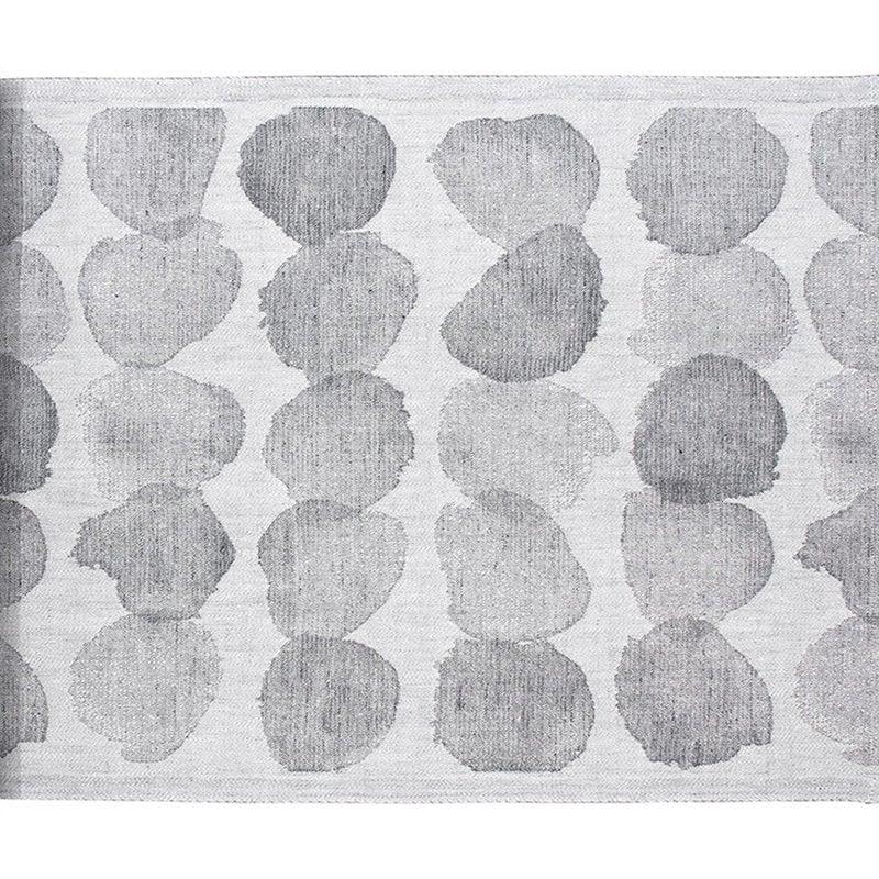 Lapuan Kankurit Sade sauna cover 46 x 150 cm, white - grey