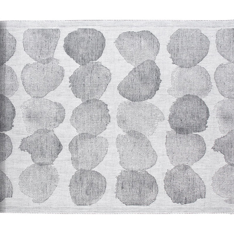 Lapuan Kankurit Sade laudeliina 46 x 150 cm, valkoinen - harmaa