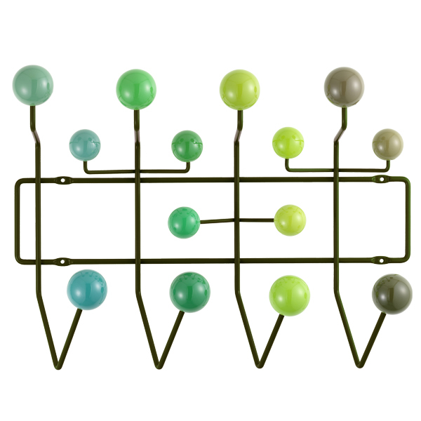 Vitra Hang it all coat rack, green