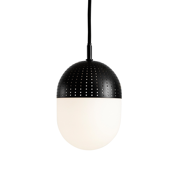 Woud Dot pendant, M, black
