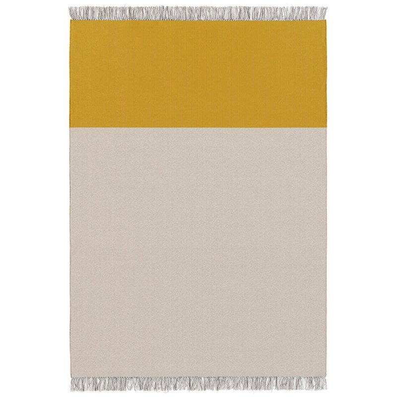 Woodnotes Beach matto, vaalea hiekka - keltainen