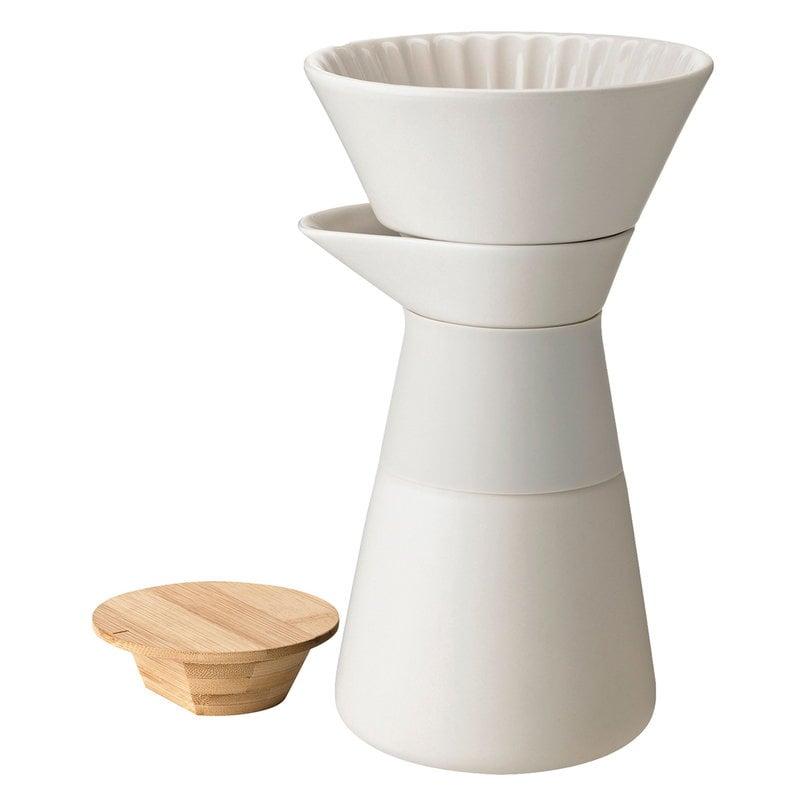 Stelton Theo kahvipannu suodattimella, hiekka